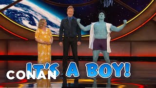 The Gender Reveal Hulk - CONAN on TBS