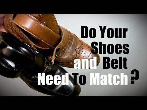 How To Match Casual Shoes and Belts: Do Shoes And Belts Need To Match? #1