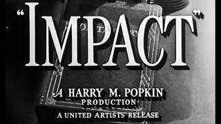 Film Noir Crime Drama Movie - Impact (1949)