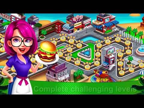 School Girl Restaurant Story: Fever of Cooking APK Cover