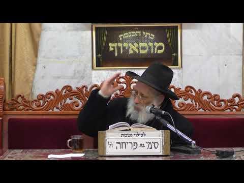 הרב אברהם יונה הלכות הפרשת חלה
