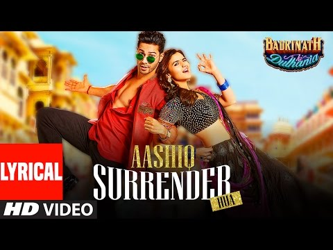 Aashiq Surrender Hua Lyrical Video | Varun, Alia |Amaal Mallik,Shreya Ghoshal |Badrinath Ki Dulhania