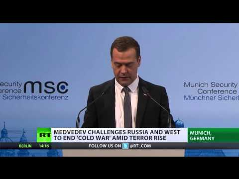 'Is it 2016 or 1962?' PM Medvedev urges Russia & West end 'Cold War' amid terror rise