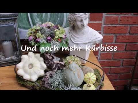 05:19 Herbstterrasse   Bärbel´s Wohn U0026 Deko Ideen