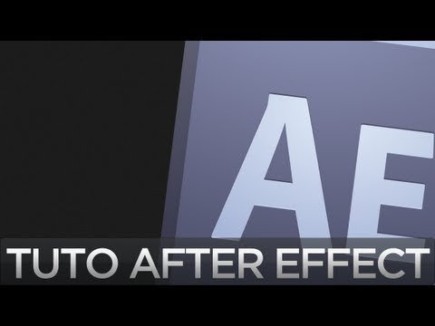 Tuto After Effect - Overedit Scope animé TV Glitch effect | Par IE