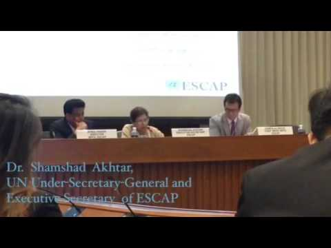 Launch of the United Nations Economic and Social Survey of Asia and the Pacific 2016