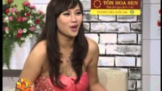 Ca sĩ Khánh Linh nói về nghệ sĩ tính 2 - Vui Sống Mỗi Ngày [VTV3 - 07.06.2013]