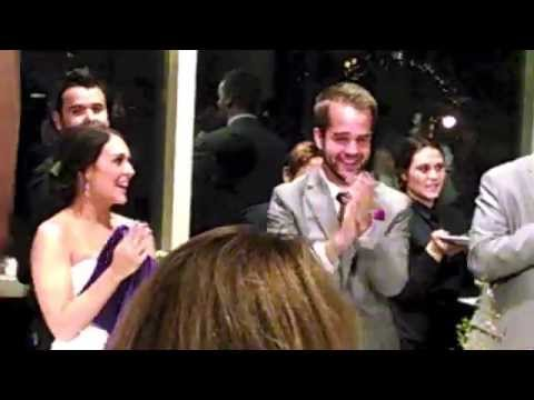 Les Misérables Flash Mob - Ogle Wedding