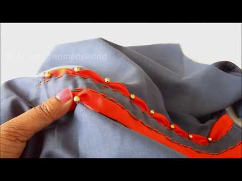 Placket Desing Making for Kurti / Churidar for Office / Daily Wear - Cutting & Stitching