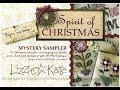 Lagu Flosstube 94 Let&39;s Chat ~ Lizzie Kate Spirit of Christmas Mystery Sampler!!