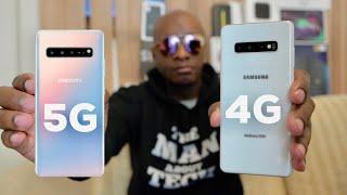 Samsung Galaxy S10 5G VS Galaxy S10 Plus
