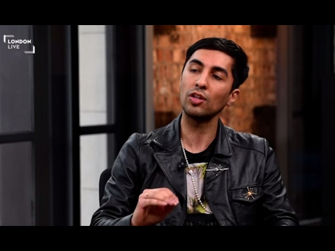 Ankit Love's interview on London Live TV - 2016 Mayor of London election