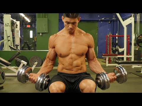 Home Bicep And Triceps Workout video