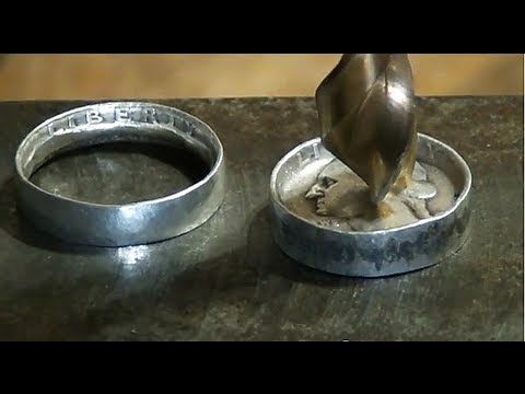 Make Rings Out Of Coins YouTube
