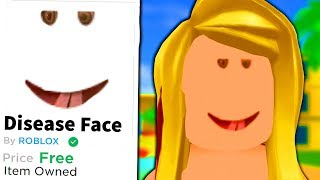 I made an AWFUL Roblox face... and made people wear it