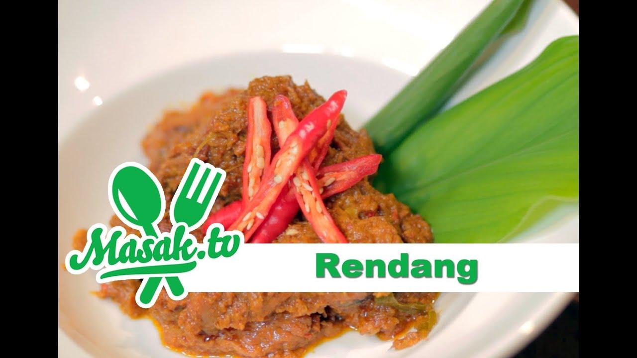 rendang daging resep 090   youtube