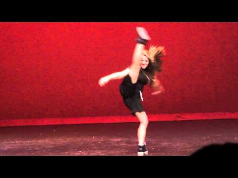 Lauren Zink dance solo at Chugiak High School's Talent Show 2011.