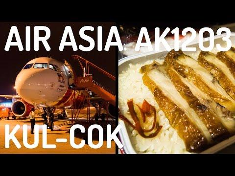 AirAsia AK1203 : Flying from Kuala Lumpur to Kochi