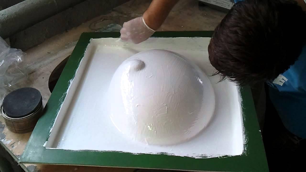 Как сделать матрицу из стеклопластика своими руками»