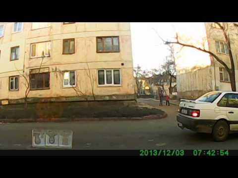 Симферополь ДТП ГРЭС Марсовый переулок 03.12.2013 г