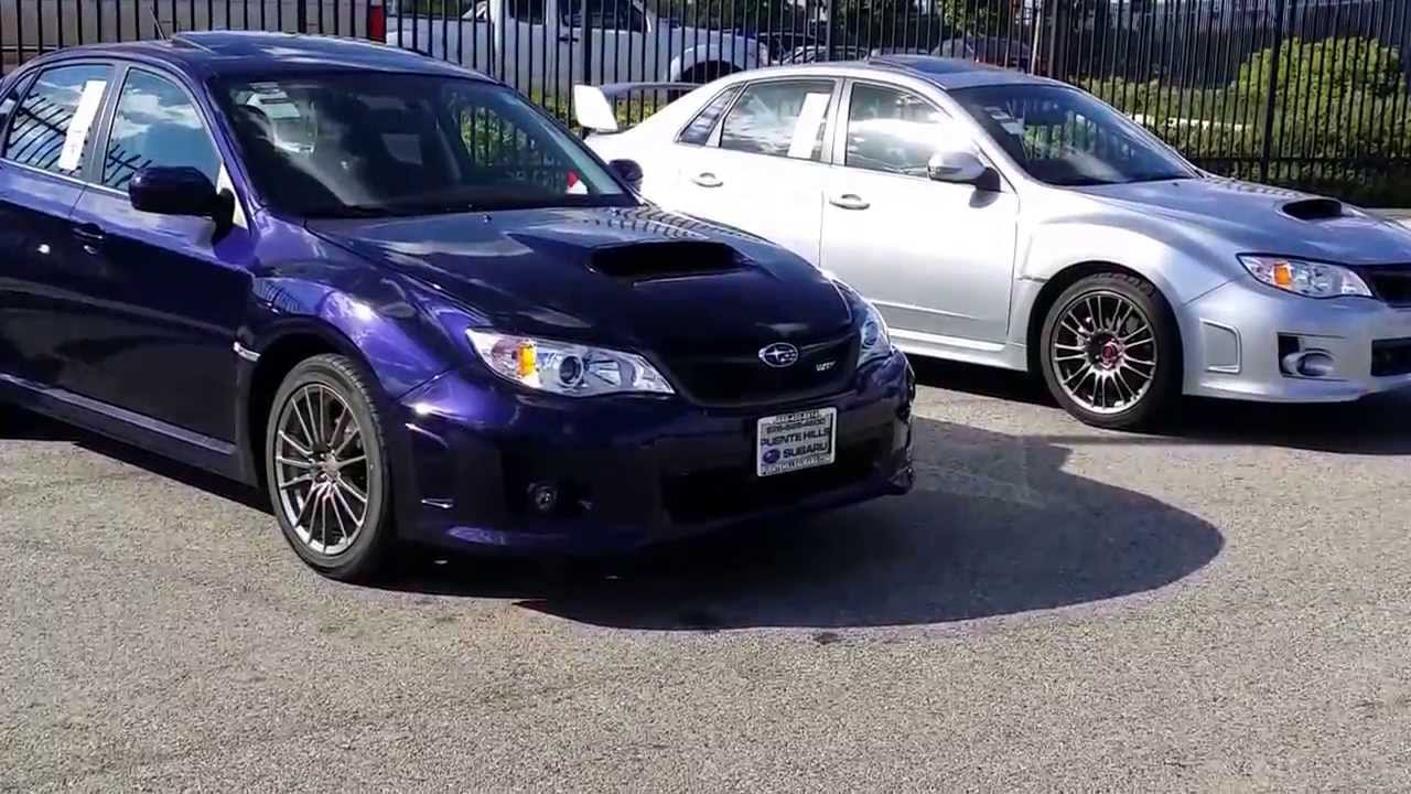 2014 subaru wrx vs 2014 impreza sti comparison puente. Black Bedroom Furniture Sets. Home Design Ideas