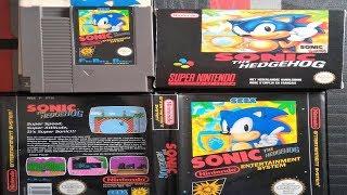 Sonic The Hedgehog Nintendo Nes