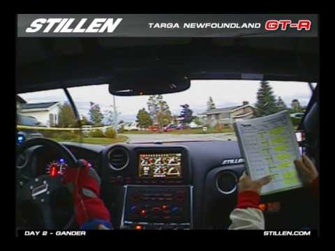 STILLEN GT-R: Targa Newfoundland Rally 2009 - Day 2 Gander