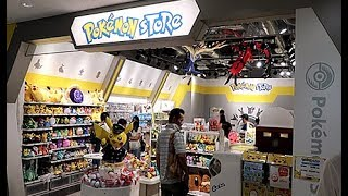 Official Pokemon Center in Tokyo Airport (Tour)