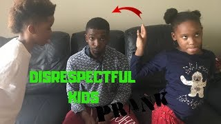 DISRESPECTFUL KIDS PRANK ON PARENTS!!! (Very Funny) | THE THOMAS FAMILY