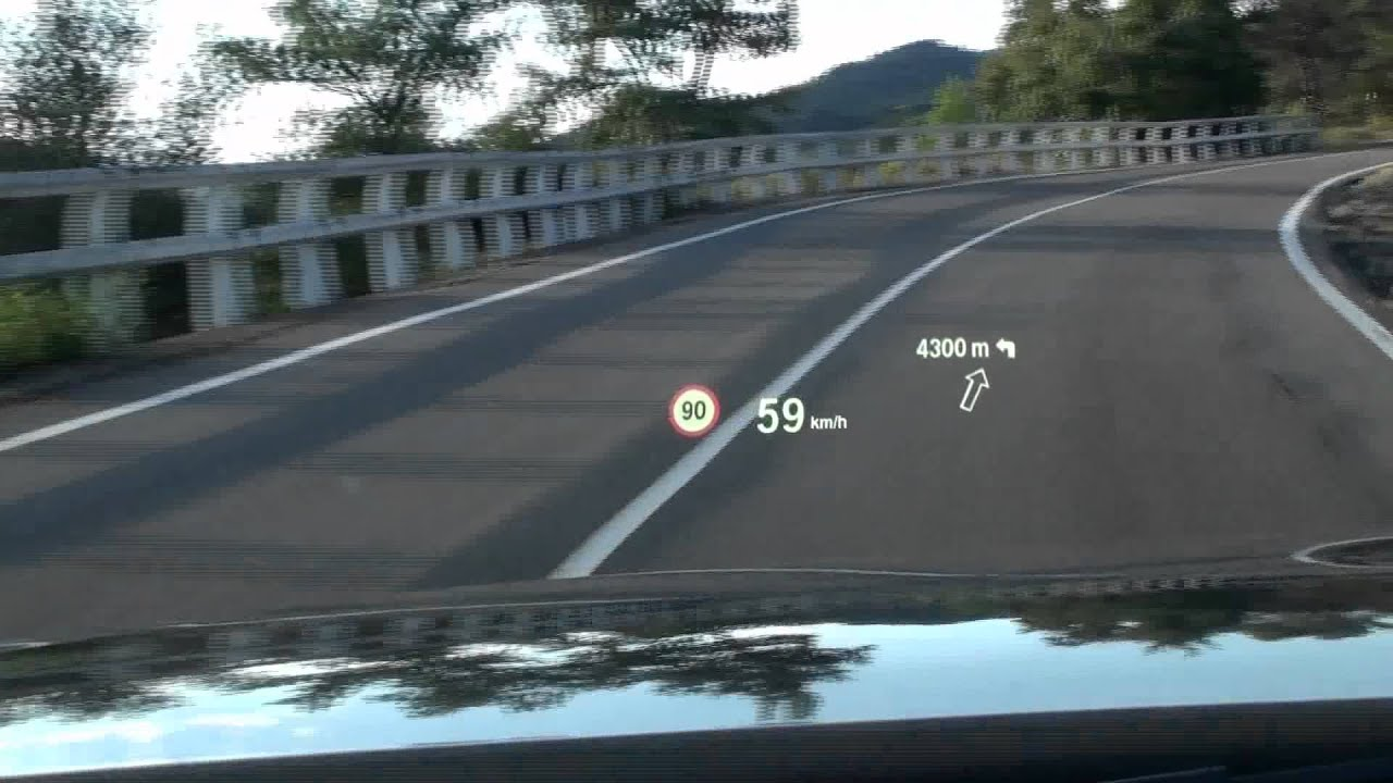 2012 bmw 3 series head up display youtube. Black Bedroom Furniture Sets. Home Design Ideas