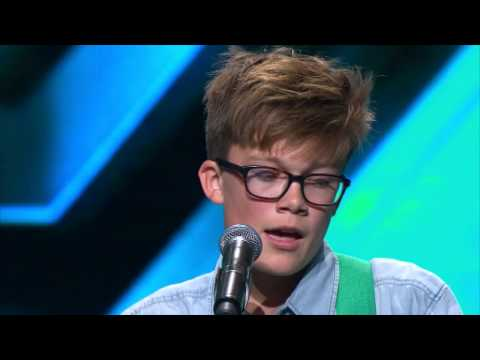 Perfect Ed Sheeran Cover From Young Archie - The X Factor Nz On Tv3 - 2015 video