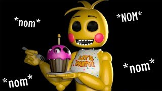 FNAF SFM: DO YOU WANT THIS CAKE? (FIVE NIGHTS AT FREDDY'S SONG ANIMATION)