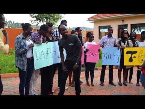 2017 Best Surprise Proposal Ideas In Uganda - BONNY & DAPHINE