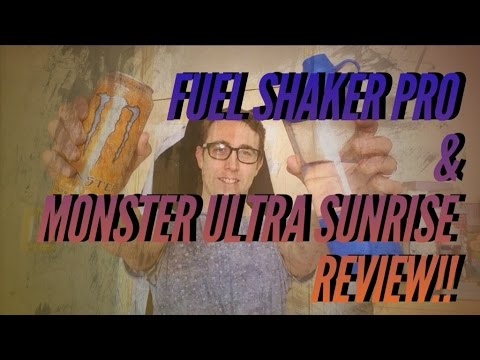 Fuel Shaker Pro Review - Monster Energy Drink Review