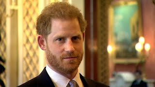 Prince Harry makes first public appearance since royal family crisis