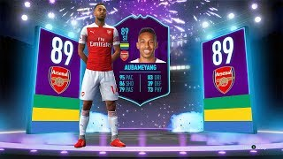 89 ST AUBAMEYANG PLAYER OF THE MONTH SBC! - FIFA 19 Ultimate Team