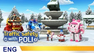 Trafficsafety with Poli | #19.Snowy day safety rules