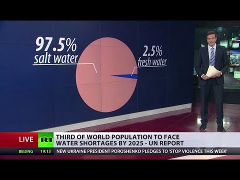 Waterless World? Scarcity could bring Earth to breaking point