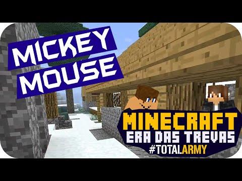 Minecraft: Era Das Trevas - Mickey Mouse #14 video