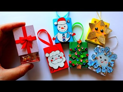 Игрушки и подарки на новый год своими руками