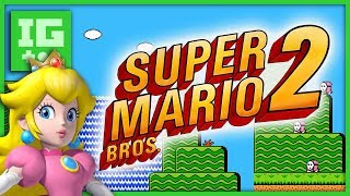 Super Mario Bros. 2 (NES/SNES) - The Art of the Sequel - IMPLANTgames