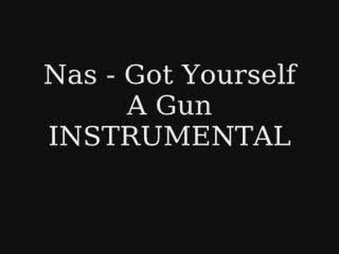 Nas  Got Yourself A Gun INSTRUMENTAL