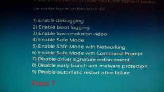 Force driver installation in Windows 8 or 8.1