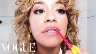 Rita Ora Does Day-to-Night Bombshell Beauty | Beauty Secrets | Vogue