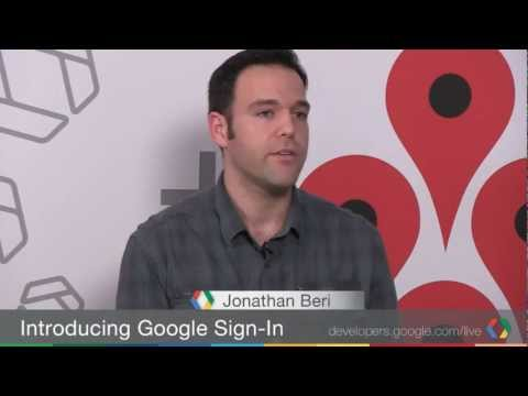 Google+ Developers Live: Introducing Google+ Sign-In