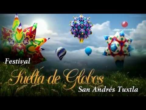 Promocional Festival de Suelta de Globos   San Andrés Tuxtla