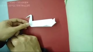 How To Make A Origami Duck