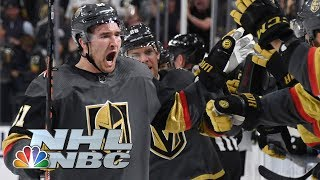 NHL Stanley Cup Playoffs 2019: Sharks vs. Golden Knights | Game 3 Highlights | NBC Sports