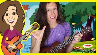 Row Row Row Your Boat Nursery Rhyme for Children | Lyrics | Ukulele Chords | Patty Shukla