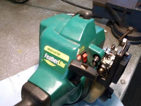 Weedeater Carburetor Rebuild Amp Fuel Line Repair Part 1 Of